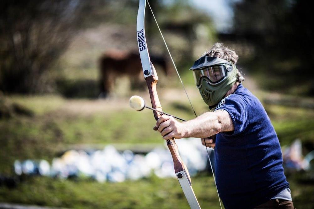 Archery Tag loading