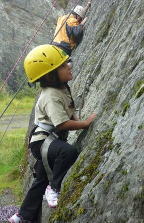 Lake district rock climbing