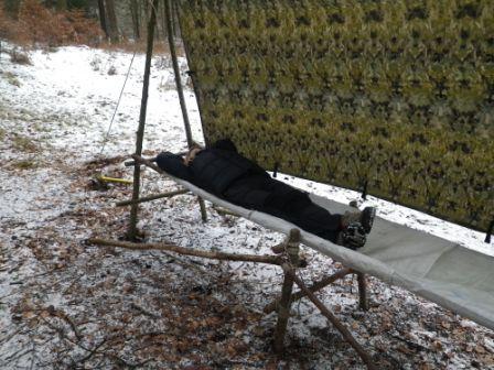 Pioneering bed