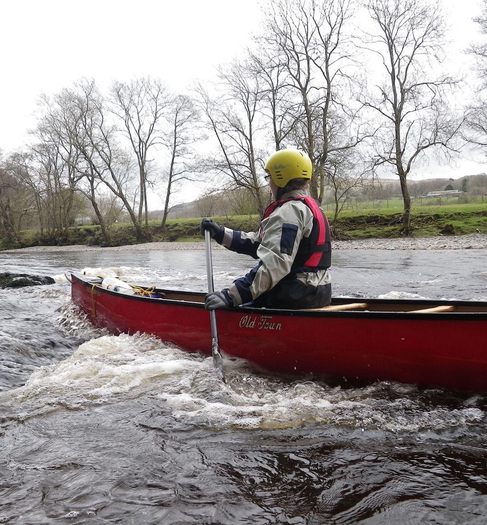 White water kayaking and canoeing