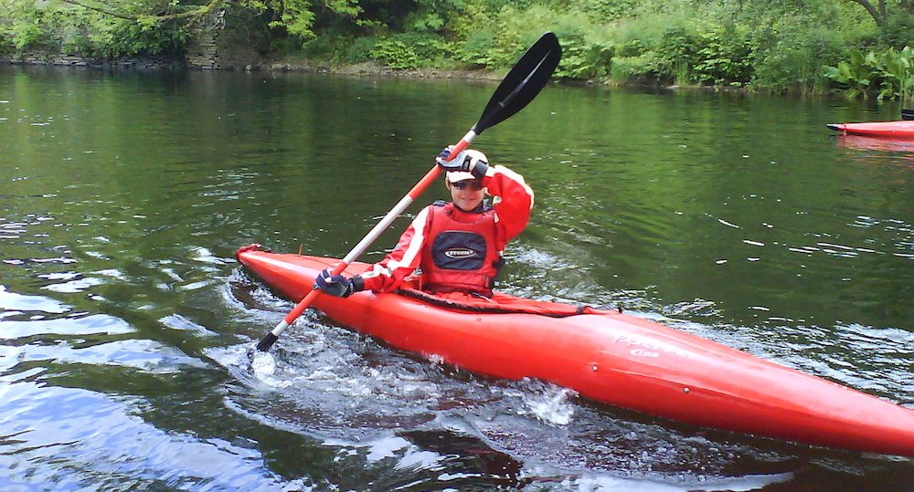 Kayaking to explore the Lake District