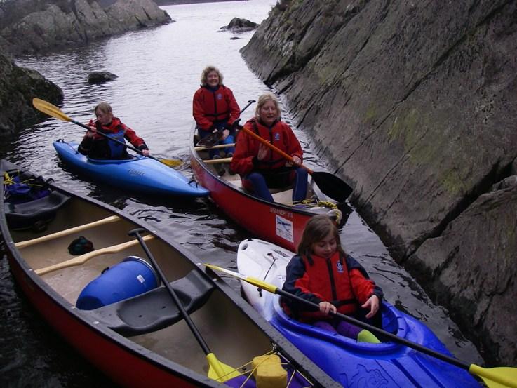kayak gorge slider