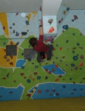 Overhang Bouldering