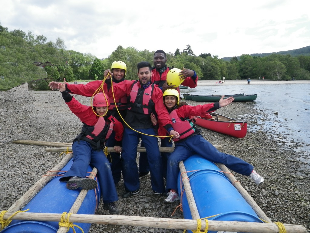 raft building launch plan