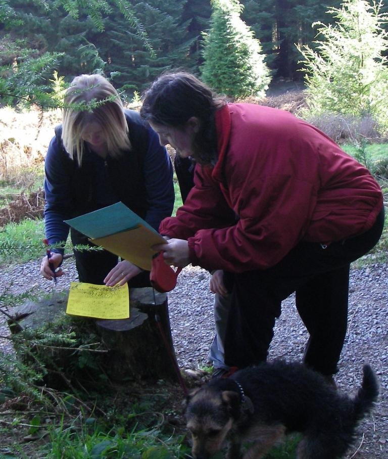 Orienteering in the Lake District