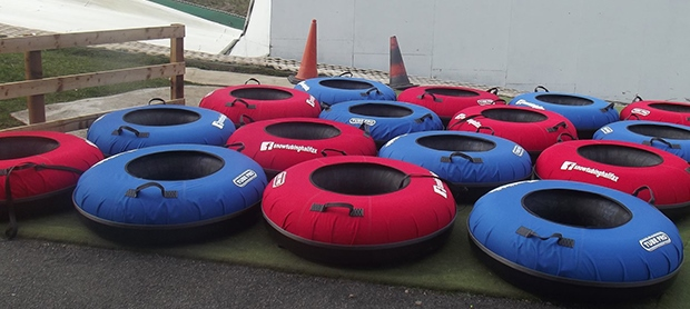 Tubing at joint adventures