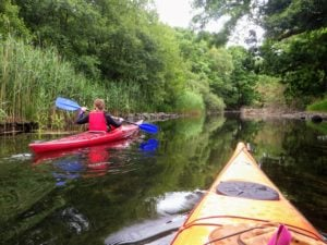 Wild Cat Island trip goes up river to Allan Tarn