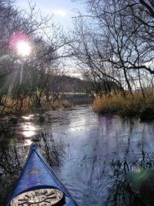 Outdoor adventure kayaking
